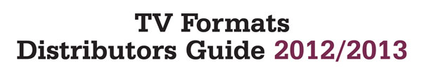 ***TV Formats Distributors Guide***