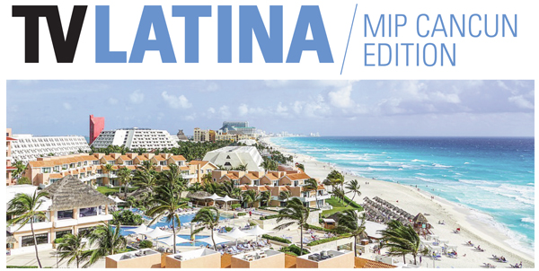 TV Latina at MIP Cancun