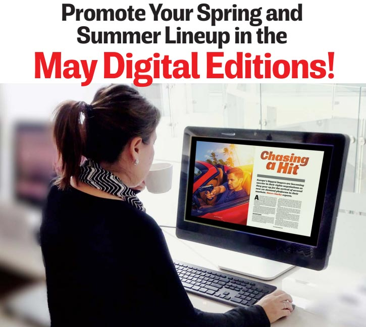 Promote Your Spring/Summer Lineup in the May Digital Editions