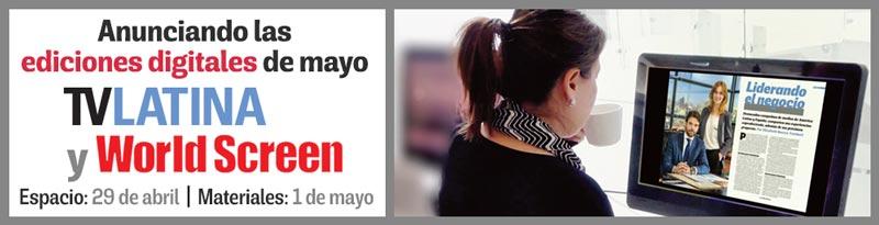 Ediciones digitales de mayo